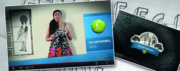 Das Talentmobil: Einführungsfilm